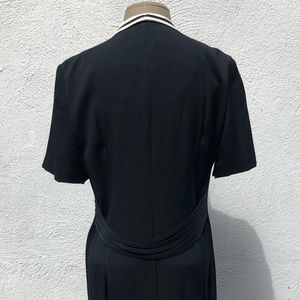 Kasper Dresses - Vintage Button-Up Dress